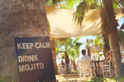 Beach bars Cyprus