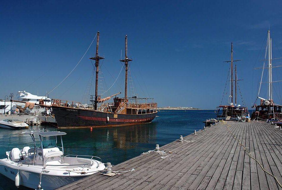Paphos Harbour Cyprus
