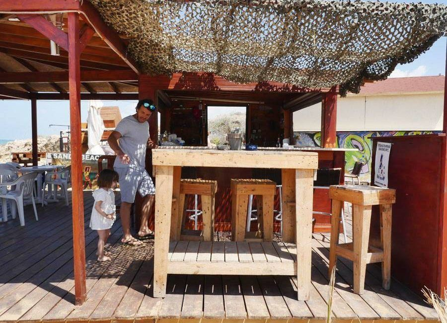 Sandy Beach Bar Cyprus